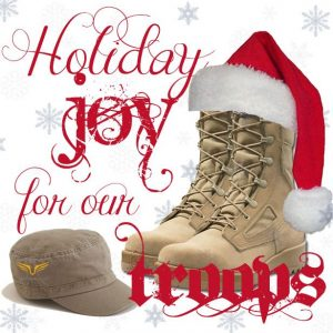 Holiday-Joy-for-our-Troops-(Red-Hat-w-snow-flakes)